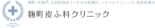 麹町皮ふ科クリニック【平日20時】麹町、半蔵門、永田町:1~5分|千代田区